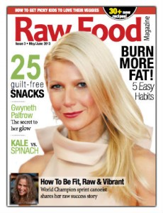 raw food magazine may june issue