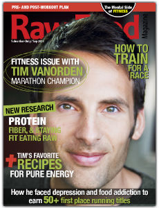 raw food magazine - Tim Vanorden