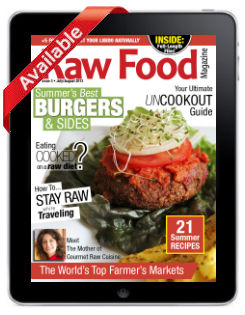 Raw Food Magazine Uncookout Issue