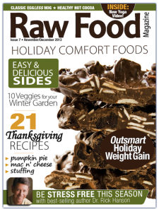 Holiday 2013 Issue of Raw Food Magazine
