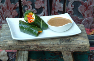 raw collard roll wraps recipe