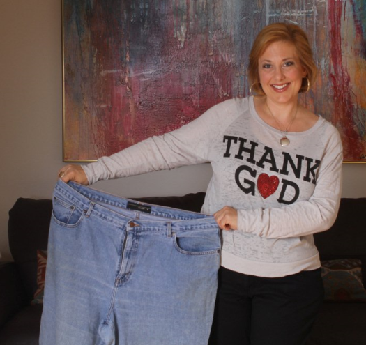 chef lisa books-williams loses over 100 lbs holding her fat pants