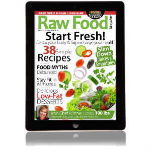 raw food magazine raw food recipes for cleansing