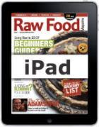 Raw Food Magazine Ipad and Iphone