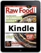raw food magazine kindle